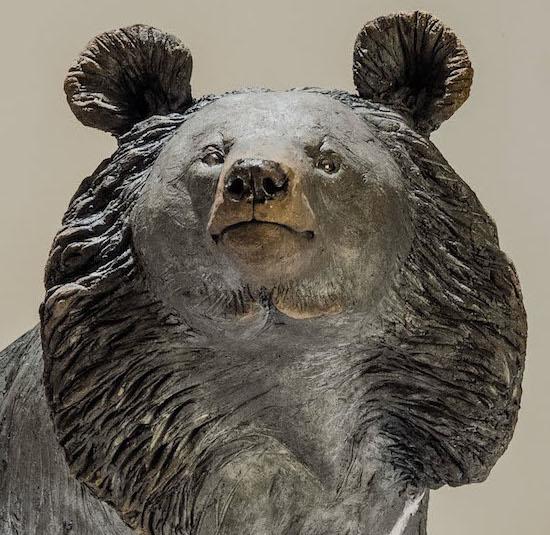 Moon Bear Sculpture for Animals Asia