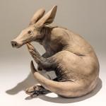 Aardvark sculpture