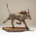 Nick Mackman Warthog Sculpture