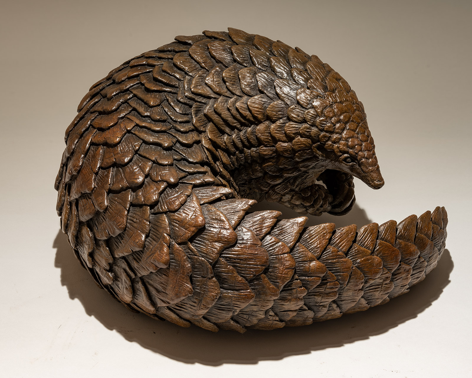 Bronze Pangolin Sculpture £7995