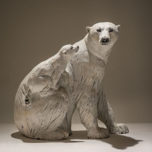 Polar Bear with Cub £1750