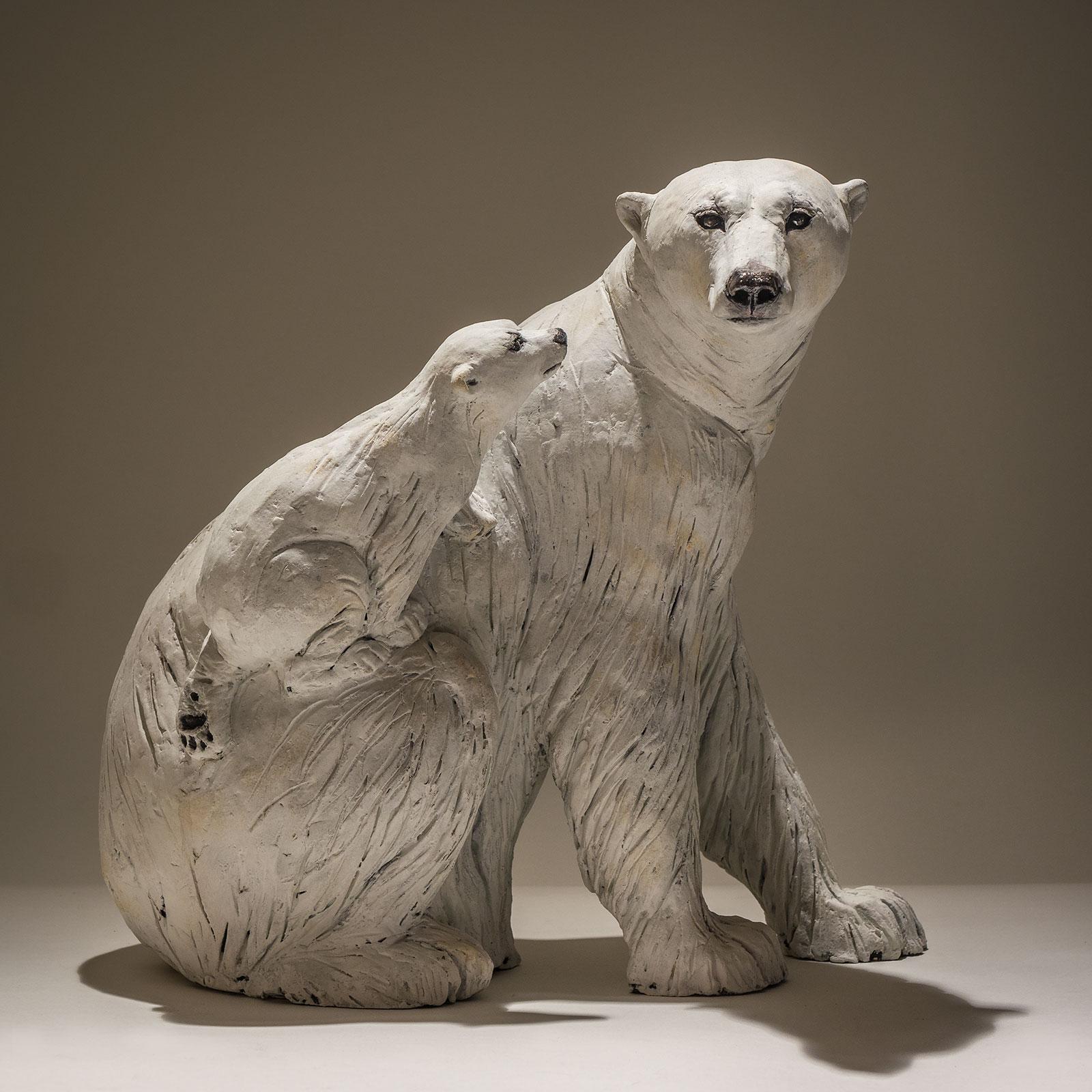 Polar Bear with Cub £1750 <span>Sold</span>