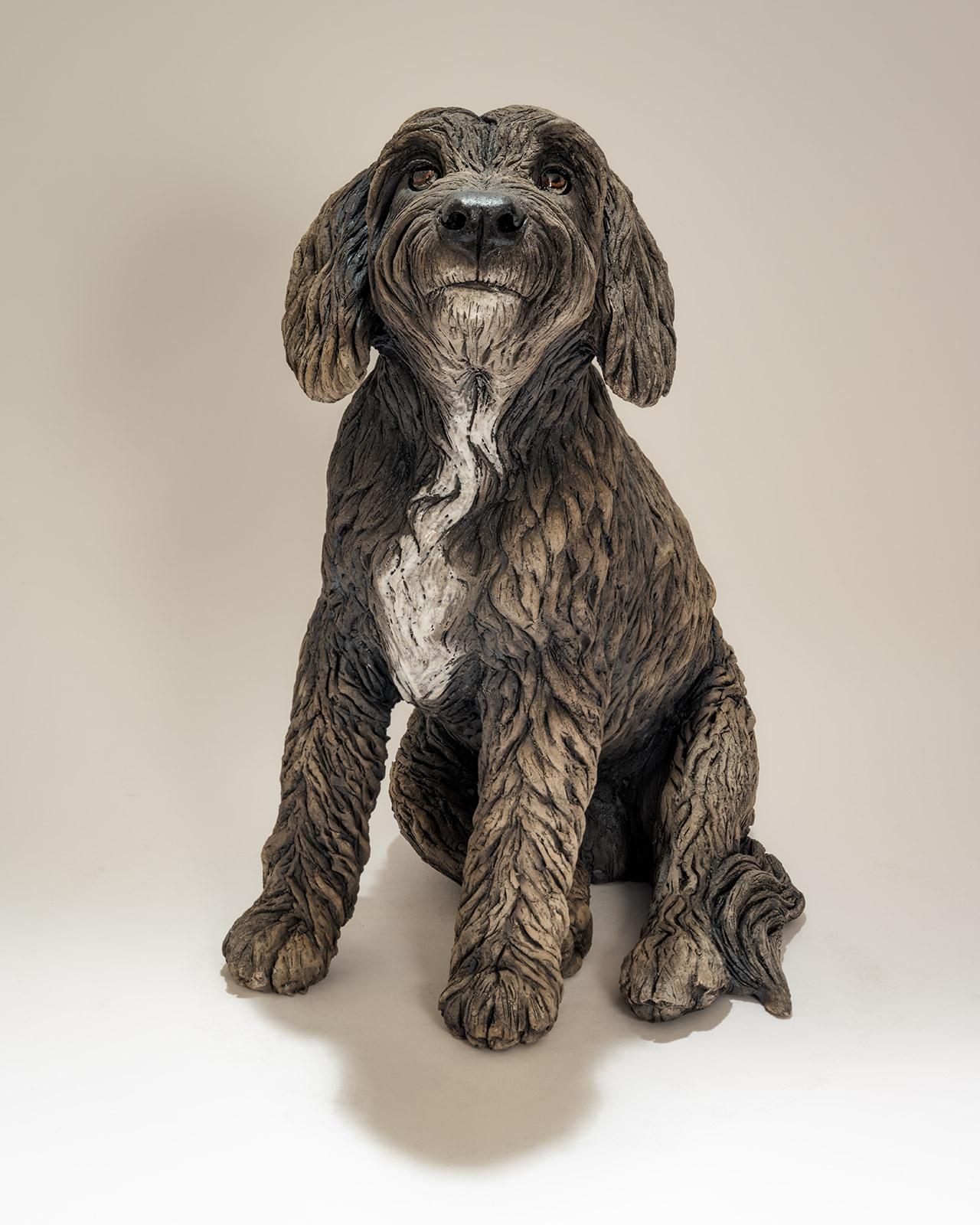 Poodle Dog Sculpture