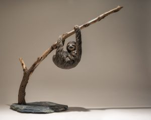 Sloth Sculpture