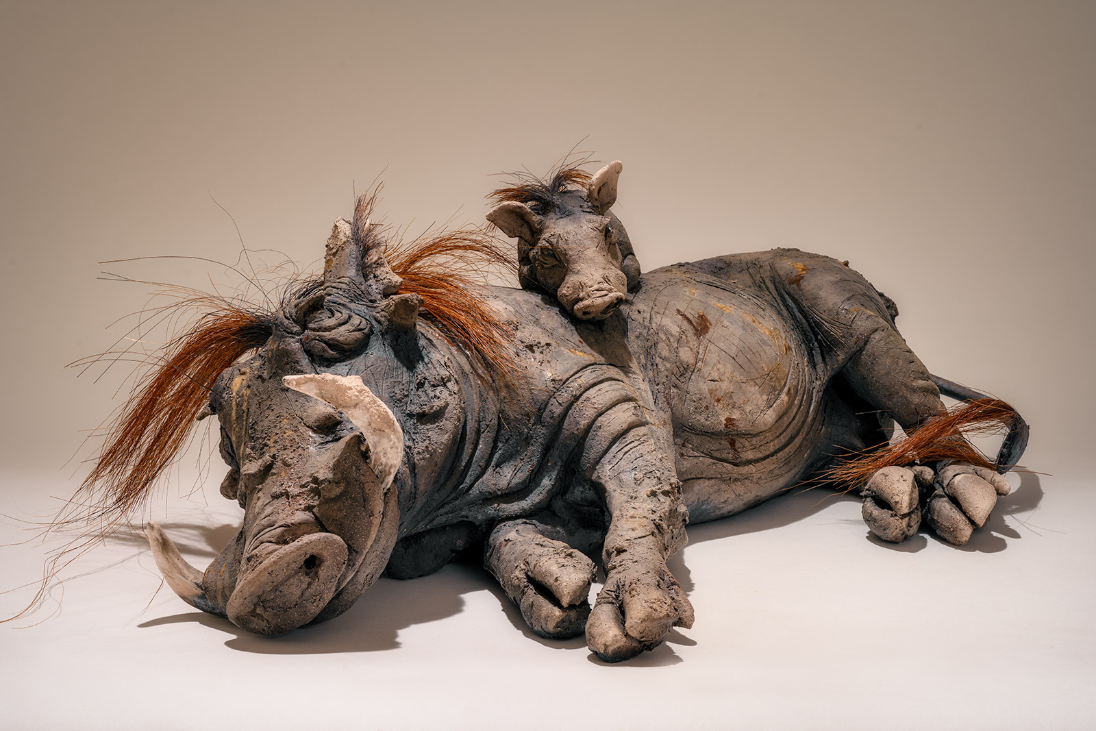Warthog with Baby Sculpture £3500 <span>SOLD</span>