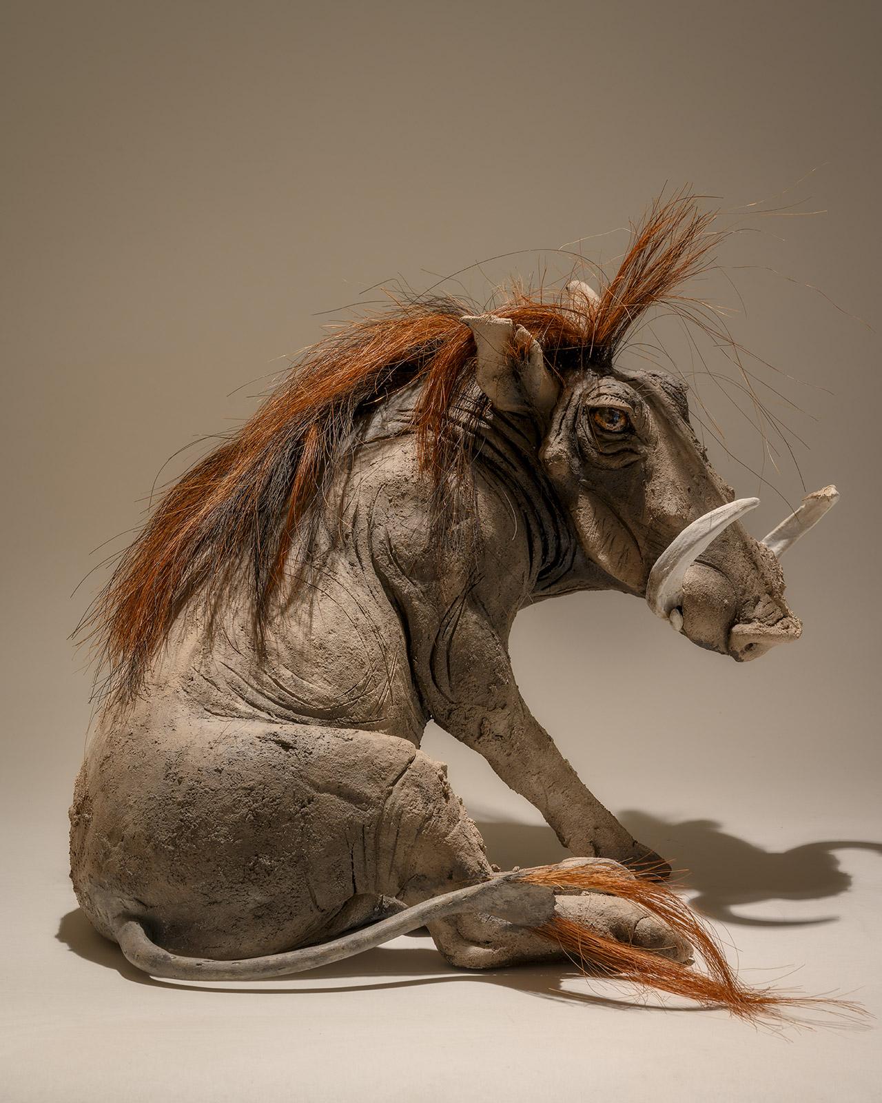 Warthog Sculpture £2995 <span>Sold</span>