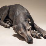 Whippet Dog Sculpture