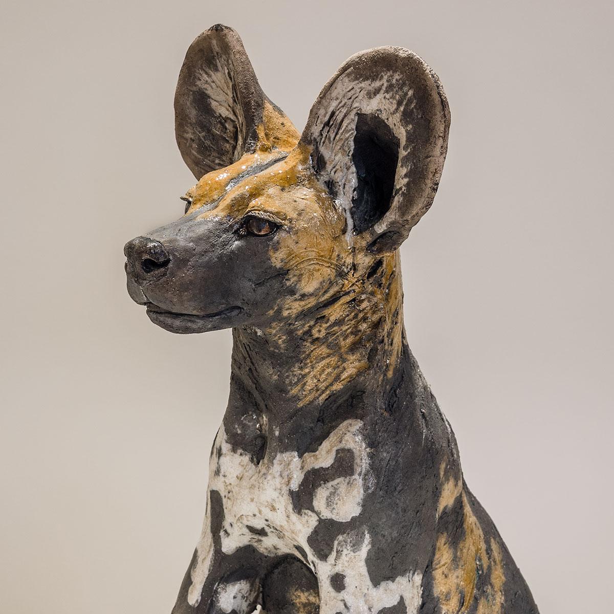 Wild Dog Sculpture <span>Sold</span>