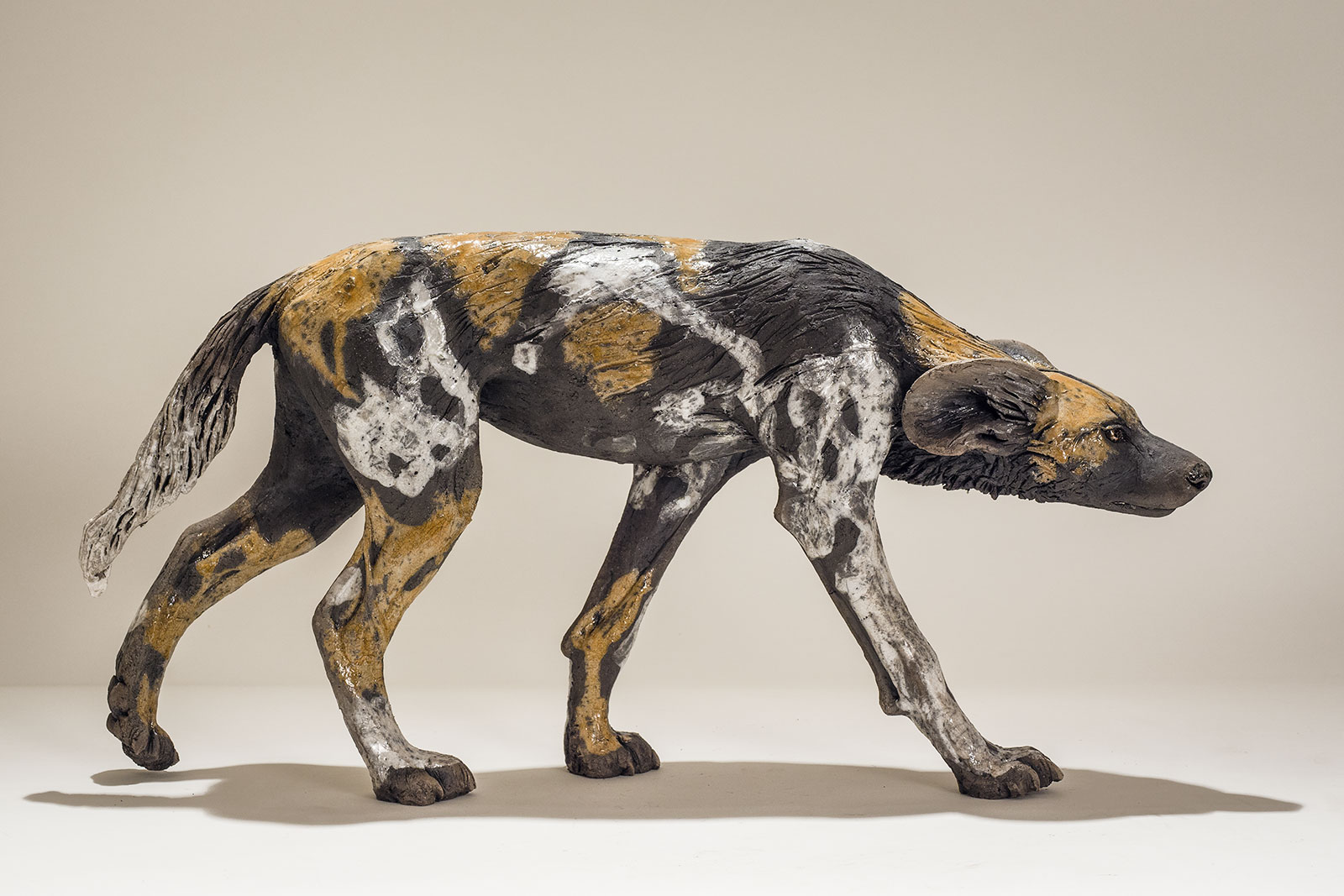 Wild Dog Sculpture