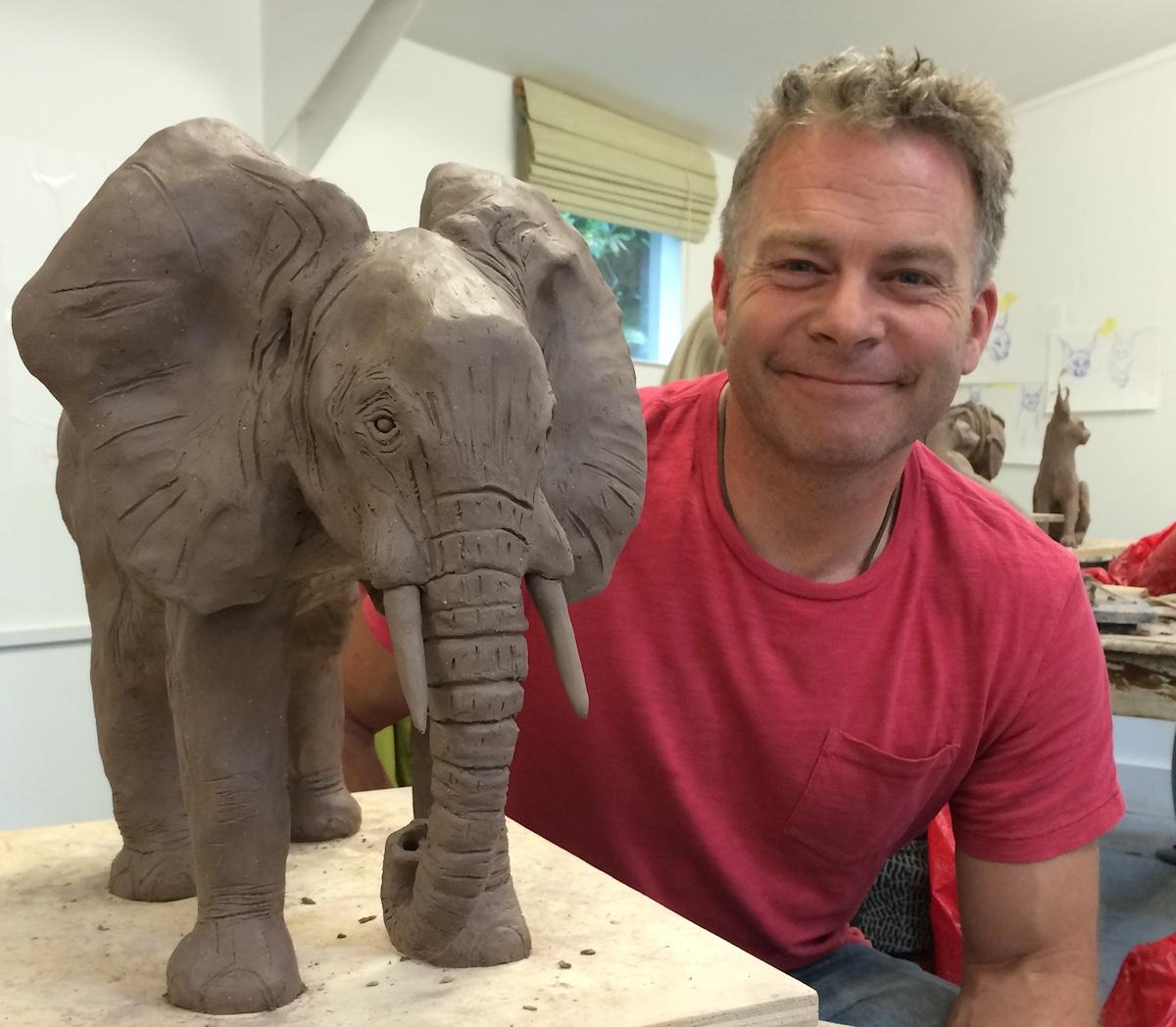 Animal Sculpture Workshop 2015